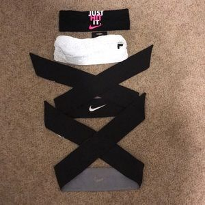 Bundle of Nike headbands.